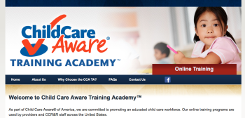 501©3 is NACCRRA, ChildCareAware® Academy Website is, naccrra.smarthorizons.org. Good luck finding an admission of who NACCRRA is on that website, or even a street address (it's a VA address, CA legal domicile, and has been since the start--inc. 1987)