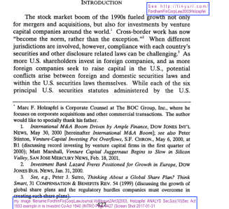 fordhmfincorplawjournalvol8issue2art32003-holzapfel-analys-sec3a10sec-act-1933-exemptn-in-re-investmt-co-act-1940-intro-page-427-screen-shot-2017-01-31