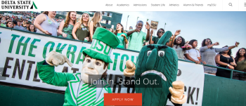 www.deltastate.edu/about (one of 4 home page banners)