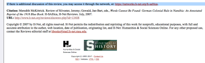 "Credits for an H-Net book review of ""WORDS CANNOT TELL"" by a History professor? from Georgetown. Posted 2-4-2017."