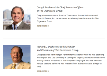 "Connection to a 2-6-2017 post (update) as one purchaser/seller of Newsweek bought a company from ""The Duchussois Group"" in 2014; these are the two featured Duchussois on the company website:"
