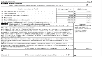 EIN#341376870 | Action Ohio Coalition for BW | Yr2003 Form 990EZ<~~ (