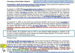 LA USD CAFR YE2009 (illustrating Budget Deficit — Increase Revs, Reduce Exps DEFICIT talk) (see CAFR1'com}bankrupt'html (Burien 2010) SShot 2017July11 @6.49.40PM