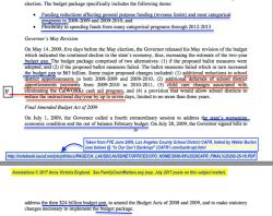 LA USD CAFR YE2009 (illustrating Budget Deficit — Increase Revs, Reduce Exps DEFICIT talk) (see CAFR1'com}bankrupt'html (Burien 2010) SShot 2017July11 @6.56.36PM