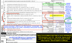 NVFund, formerly ARABELLA LEGACY FUND (Eric Kessler) EIN#205806345 FY2010 showing the meat of Pt I – 16M Contribs – Expenses only 4M grants but 10M to OtherExps (21subcontractors