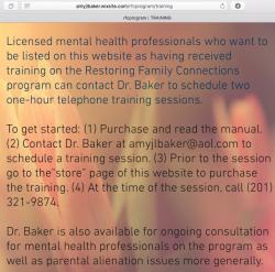 Amy JL Baker PhD~personal + RestoringFamilyConnectns (wix) websites =Imaged 2017Dec20 Wed @3.00.40PM