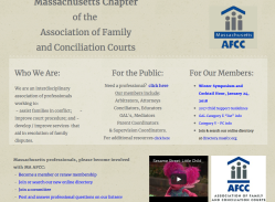 MA AFCC incl new Parenting Coord Admin Judicial Rules (+ it's advertising Overcoming Barriers)  2017Dec19 Mon @7.46.33PM