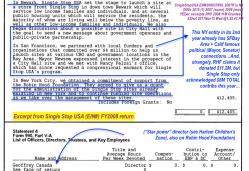 SingleStopUSA EIN#208837690, 2007ff in NY (990s 2015 (1) 2007 (some) 2008 (most) YEDec excerpts RHF 2008 11M Grantee ~ SShot 2017Nov15 Wed @1.25.43PM