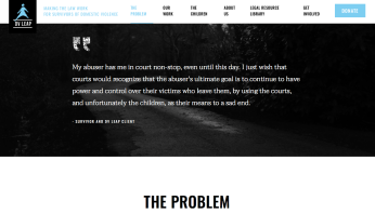 DVLEAP website 'The Problem' (top to bottom in sequence) incl 58,000 yr ~ 2018Jan22 Mon @3.12.55 PM 00001