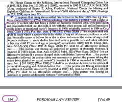 Escape from DV** FordhamLawReview (2000 Vol69, p593ff) (re Hague Conventn, CRC, Changing Stereotypes + US Laws re Parental Abductn | cites Agopian) ~2018Jan17 Wed @8.41.47 PM00017