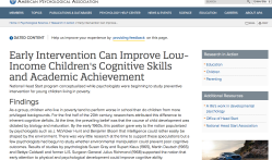 APA 2004Apr 24 (my Feb 27 2018 post '-4It'  Early Intervention Can IMprove Low-Income Children's Cognitive Skills and Academic Achievemt (HeadStart Origins)   cf Urie Bronfenbrennar Wiki (fn)~~4 Sshots 2020Feb16 Sun PST @11.32.42 AM1