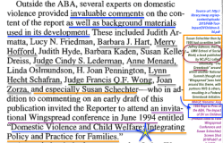 Aug 1994 Rept to Pres of the ABA, The Impact of DV on Children (Preface cited to 1994 Wingspread Conference and Susan Schechter) Screen Shot 2018Feb07 at5.10PM