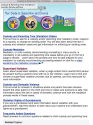 Courts'CA'gov SelfHelp now features FAMILIES CHANGE website under~ Custody+ Child Support (Visitatn)–SShot 2018Feb7 Wed @1.58.48PM