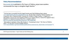 RWJF Program Results Rpt Jan 28, 2014 (3 grants, Fragile Families Study) --SShot 2018Feb7 Wed @7.03.25 PM