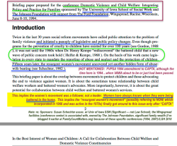 Shechter+ Edleson © 1994, Wingspread Conf Briefing Paper, In the Best Int's of W&C – a CALL FOR COLLABORATN bwt CW and DV ~Constituencies~ (sic)–SShot 2018Feb7 Wed @5.36.32PM