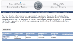 OMB One Mom's Battle Inc (CalEntity#36853559, no EIN# found at CAL OAG (2014-2017) or IRS|voluntarily Dissolved 2017 ~~ SShots 2018Nov23 Fri @12.10.46 PM4