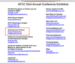 AFCC June 2016 Monthly eNews (Vol 11 No 6) showing AIC, ReginaMandl (MassProb+Fam Inn of Court) + 53rd Annual Conference Collaborating Orgs) ~ 1 pdf and Many Sshots 2019May18 Sat PST @7.43.25AM