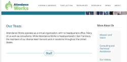 ATTENDANCE WORKS~> cf LindaBowen bio (SeeAlso Frameworks Institute, 'Institute4CommunityPeace'|Bowen is former ACYF,HHS) (my post '9ZS') ~Screen Shot 2019-06-17 at 8.37.15AM