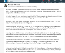 Michael Ostrolenk3d (LinkedIn images) American Conservative Defense Alliance (2007-2008, IRS tax-exempt status DENIED) still referenced ~ Screen Shot 2019-06-29 at 6.21.22PM