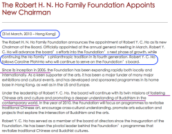 RobertHNHoFoundation (RHFndtn'com) in Hong-Kong appts successor to Chairman Caroline Pfohl-Ho in 2010 ~~ Screen Shot 2019-06-16 at 4.38.15 PM