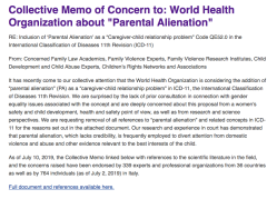 CREVAWC (Canada, w| Peter Jaffe et al) incl CollectiveMemoOfConcern to WHO re PAS (July10 2019) ~~?? SShots 2019Aug20 Tue PST @3.16.00PM