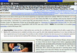 LGH FCM Post 2017Dec3   '-7Um'   NRA (not)On the Record Modeling GunControl.. Preventn Laws after DV PreventnLaws (i.e. under Mental Health) thru Unregistered'Consortia')? No Thanks!!' ~~SShot 2019-08-08 at 10.24.37AM