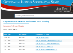 (Looking in ILLINOIS for) RSM US LLP, auditor of FYE June30 2018 Truth Initiative & Affiliate (i.e. M Street Holdings LLC) Financial Statemts || SShots 2019Aug16 FRI PST @12.35.11PM