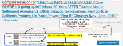 LGH|FCM post (pre-publict'n) Admin, 'Health Systems Still Flushing w Cash' Last Revs 3 months ~|~ 3 wks ago (June vs Aug 2019) (see June22 published post) ~~SShot 2019-09-18 at 2.00.23PM