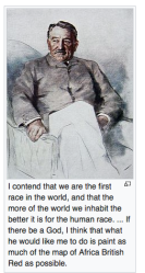 Cecil Rhodes quote (from his oddly short 'Wiki,' imported to WordPress blog, Screen Shot 2019-11-08 at 9.42.09AM