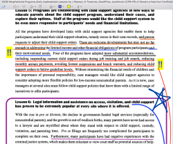 1997 project, 2000 pub, HHS Contract   OCSE Responsible Fatherhd Programs   Early Implementatn Lessons (by Pearson, Thoennes (and Venohr and David Price) found at NRFC~~>Fatherhood.gov~~Imgs from large pdf ~ 2020Jan13 Mon PST@ 4.20.47PM