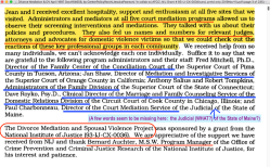 'DivorceMediation&DV,' April1997 Doct164658, by CenterPolicyRsrch(JessicaPearson) 'in collab w AFCC', NIJ Grant#93-IJ-CX-0036 (found only 2019Nov11)~7 imgs, pdf is 235pp!~ 2020Feb1 Sat PST @5.35.05PM