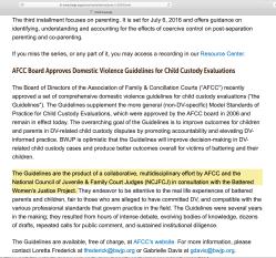 BWJP's 2016 Nat'l Child Custody Project admits collab w AFCC and NCJFCJ (& it's a DVRN entity)~~Viewed 2020June25 ThuPST @ 1.12.55PM