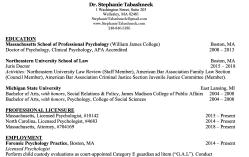 StephanieTabashneck.com CV (PsyD Wm James College came before JD @ NewEnglandSchool of Law) Screen Shot 2020-06-26 at 1.05.39PM