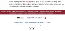 Law Firm Eckert Seamans Cherin & Mellott (since 1989) , LLC explained NJ Charitable Immunity Law concisely (Feb 5 2015), for my CBMA-CFUF post update July 8, 2020 ~~2 SShots 2020July17 Fri PST @4.43.13PM
